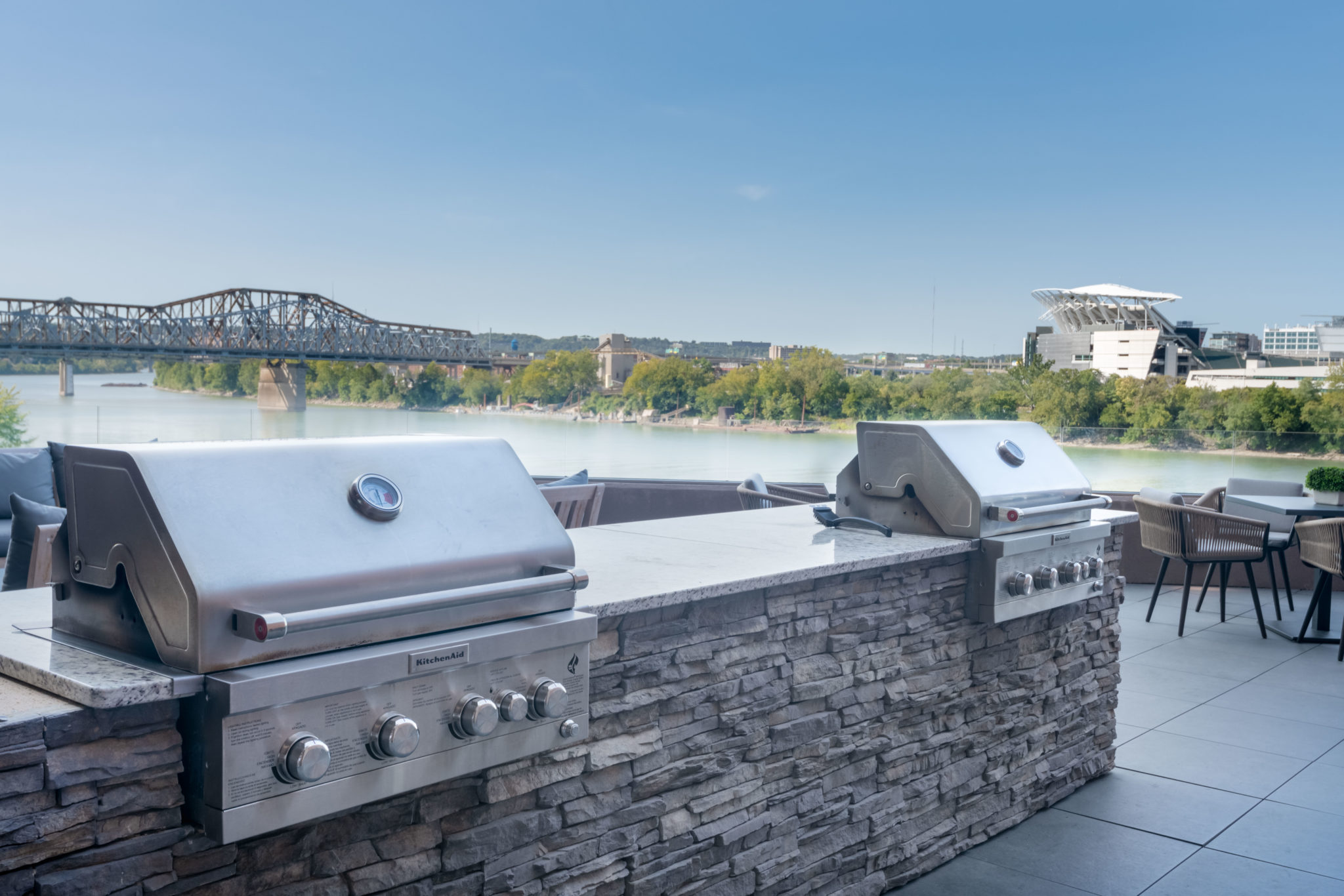 Grill Area | Madison Place apartments