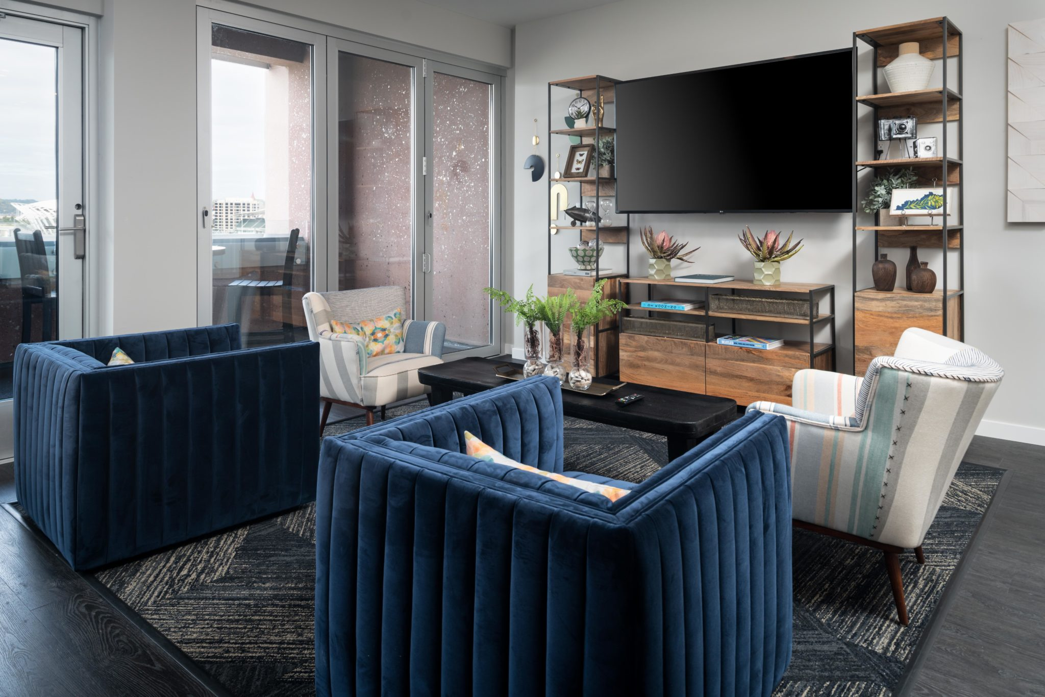 DLiving room | Madison Place apartments